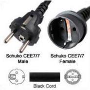Cordon d'alimentation CEE7/7 (SCHUKO) / CEE7/7 (SCHUKO)