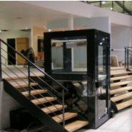 Ascenseur PMR. PRO-LIFT .APL-5, Capacité 350 Kg, Levée 5 m- Service 180°