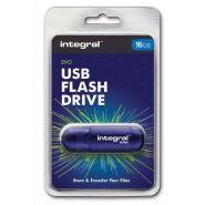 INTEGRAL CLÉ USB 2.0 EVO BLEUE 16GO INFD16BEVOBL