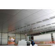 Isolation acoustique de plafonds / baffles acoustiques - delaunay sas