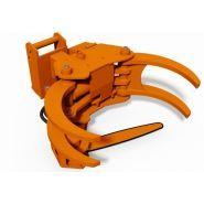 Grappin coupeur forestier Axer 650 S - Axer - Diamètre de coupe max 600 mm - Ouverture max 1000 mm
