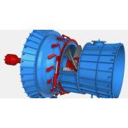 KAPLAN - Turbines hydro-électrique - HPP - Chutes nettes de 1.5 m à 45 m