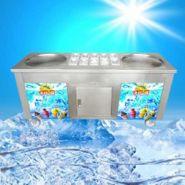 Gelato - machine à rouler la crème glacée - al razana - corps en acier inoxydable - taille de la plaque : 500 mm