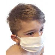 Masque de protection enfant en coton lavable à 60° en 8 jours chez vous