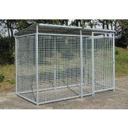 157503W - Box de stockage de bouteilles de gaz 30/15 - Denios - Hauteur extérieure de 2200 mm