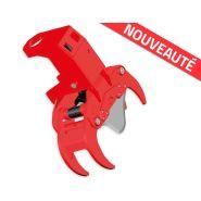 Grappin coupeur forestier - AMR - Diamètre de coupe 14 à 30 cm - Ouverture du grappin  65 à 100 cm