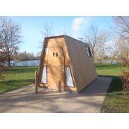 Toilette publique extérieure pmr sanilight / 4 x 2.26 x 2.45 m
