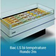 Bac bi-température rondo 1,5/2m