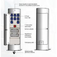 COLONÉO MÉDIUM - Borne de distribution d'énergie fixe - Escaflux - Poids : 60 Kg environ