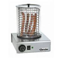 APPAREIL HOT-DOGS INOX - 1000W - 260X295X360(H)MM