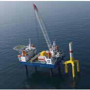 Bos 14000 grue portuaire offshore - liebherr - capacité de levage max 600t