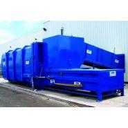 Compacteur à déchets à poste fixe cds 1500