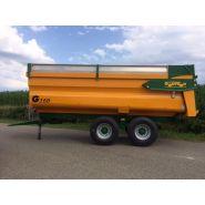 G 160 Benne agricole monocoque - Gourdon SA - Charge 16 T