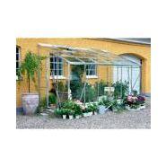 Serre compact 6.2 m² aluminium et verre horticole - juliana serre de ...