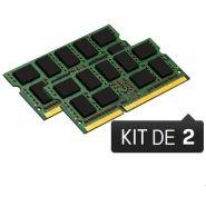 BARRETTE MÉMOIRE 16 GO MODULE NON-ECC (KIT 2X8 GO) - DDR3 (SODIMM) 1600 MHZ