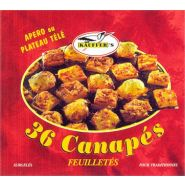 36 CANAPéS FEUILLETéS