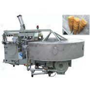 Appareil à cornet de crème glacée d'acier inoxydable - Henan Gelgoog - Capacité 1800PCS/h