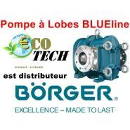 BORGER SÉRIE BLUELINE - POMPE À LOBES DÉBITS 1 À 1600 M3/H PRESSION MAX 12 BAR