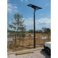 LAMPADAIRE SOLAIRE SMARTLIGHT 4M ET 5M  POUR LOTISSEMENT, PARC, JARDIN