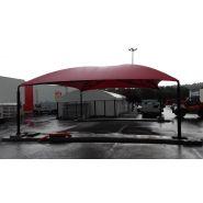 D10 - abri parking - carapax - 10.00m x 8.00m