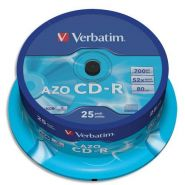 VERBATIM TOUR DE 25 CD 700 MB 43352