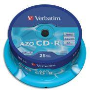 Verbatim tour de 25 cd 700 mb 43352