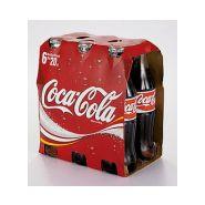 Coca-cola 20 cl x 6 bouteilles