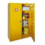 140190W - Armoire de sécurité AL 815 I - Denios - Double paroi, 3 étagères, jaune