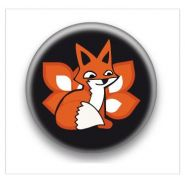 BADGE FOXLAND