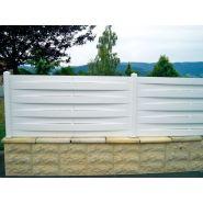Clôture tresse - morey production - en pvc - hauteur : 600 mm et 900 mm