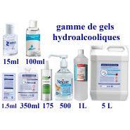 Gamme de gels hydroalcooliques