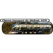 CITERNE A DECHETS ADR DE TRANSPORT 26.000 L
