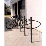 Support vélo D70 et D130 vesta - Concept urbain - 1 simple anneau en tube acier, diamètre 2 cm