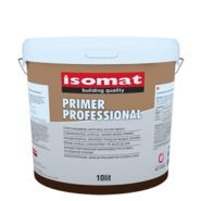 0205/6 - primer professional - primaire acrylique concentré - isomat - a base d'eau - consommation : 15-20 m²/l/couche