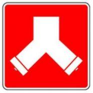 CT-027-A - Panneau d'incendie - Martech - Pour raccord-pompier double
