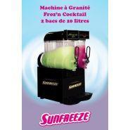Froz'n Cocktail - Machine à granita professionnelle - Sunfreeze - 2 bacs