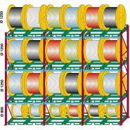RS85 - Rayonnage et rack à palette - Meccanica Nicoletti S.R.L - Stockage de tourets sur palettes