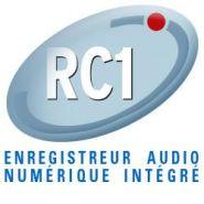 ENREGISTREUR AUDIO RC1