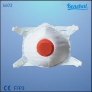 6603l - masque ffp3 - suzhou sanical protection product manufacturing co. ltd - avec valve