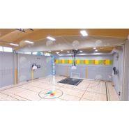 8500 - DW-FOLD - Agora sport - Rideau diviseur - Valeurs acoustiques allant jusqu'à 37db