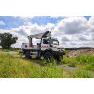 Xtenso 3 Camion nacelle télescopique sur plateau PL Unimog - Klubb - 18,50M