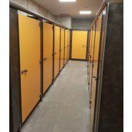 Cabine sanitaire PMR CABIFIRST215020 / hauteur 215 cm / épaisseur parois 10 mm