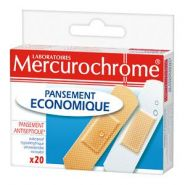 MERCUROCHROME PANSEMENTS ECONOMIQUE X 20