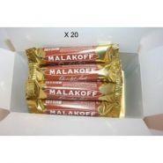 BALLOTIN 20 MALAKOFF CHOCOLAT LAIT EMBALLÉS