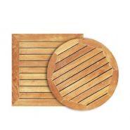 PLATEAU DE TABLE TEAK 120X80CM
