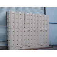 Réservoir aérien modulaire murdeau pour récupération d'eau de pluie