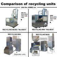 Machines pour recyclage de plastique - Kbm - recyclage général et comparaison