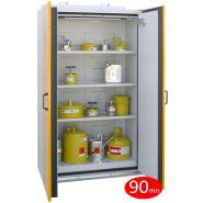 Armoire de sécurité pour produits dangereux - armoire coupe-feu 90 mn - 29 l