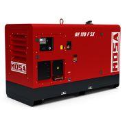 GE 110 FSX Groupes électrogènes Industriel - Mosa - Génération triphasé stand-by: 110 kVA (88 kW)