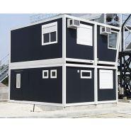 MODULE DE CHANTIER - CONSTRUCTION MODULAIRE POUR CHANTIER - BASE VIE BTP